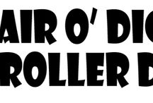 Pair O Dice Roller Derby / The Pin board for the Pair O Dice roller derby team, based in Wilbraham, MA!  / by Brenna Skirata