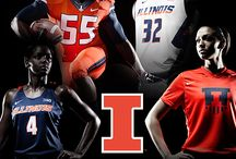 Nike Brand Identity - April 2014 / Fighting Illini Athletics, in partnership with Nike, introduced a new brand and identity system in April 16, 2014. http://www.fightingillini.com/identity / by Illini Athletics