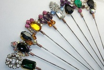 Hat pins / by theresa griffin