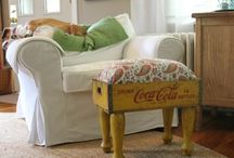 chairs. benches. seats / by judi burrows-inspired (vintage.home.design)