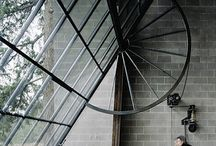 buildings, stairs, & doors / by Christopher Arter