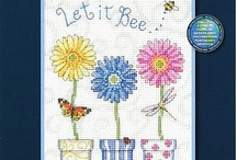 Cross Stitch - Flowers/Gardens / by May Jerzak