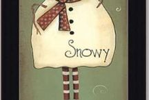 Snowmen / by Sandy Weir