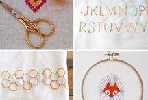 Embroider. / by Cassie York