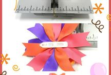 Hair bows / by Zelena Rodriguez