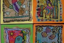 Art projects for students / by Janell Burchard