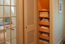 Pantry/Closet Organization / by Kimra Leman