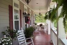 Porch Inspirations / by Deneen Azzolino