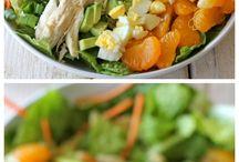 Salads / by Jessica Kokoszka