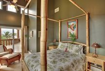 Villa Watina / Villa Watina enjoys stunning views of the Caribbean Sea from almost every room. Much of the furniture and décor was hand crafted by local Belizean artisans / by Belizean Cove Estates