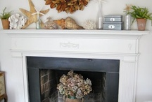 Fireplaces and Mantels / by Shannon Alford