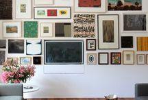 gallery wall / by Lauren Biard