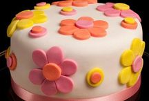 Fondant cake ideas for me to learn / by Shelly White