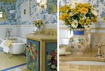 Bathrooms & Powder Rooms Designed by Linda L. Floyd Interior Design   / by Linda L. Floyd Interior Design