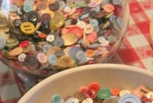 Buttons / Button crafts / by Teri Voyles