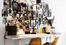 Arty Corners / Workspace inspirations / by Deniz Yildiz