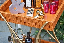 The Bar Cart is Back! {The Tipple Trolley} / by RoxyTeOwens // SocietySocial