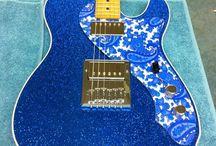 """Guitarz Of Blue"" / by John Beacher"