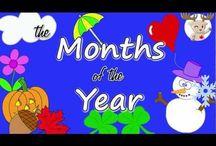 Calendar Songs / by Heather Castorena