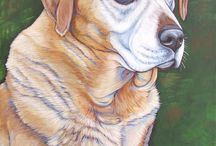 Acrylic Dogs / Dogs to paint / by Sammie Justesen