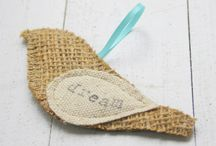 *BURLAP / TWINE / Here's for all you who love Burlap. I can't breath around it myself but some of the things you can do with it is pretty neat. Enjoy!! I put twine items in here since they seem to go together so well. / by Janet Marie