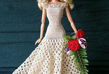 Barbie. Crochet and knitting. / by Gunn Heiberg