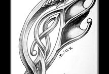 Art Celtic, Norse, and Tribal / by Kali