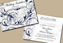 Modern Wedding Invitations / by InvitesWeddings
