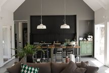 Dining Areas / by Rosa Pearson @ FlutterFlutter