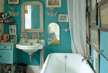 turquoise decor / by Fab Gab Blog .com