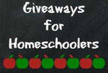 Giveaways for Homeschoolers / This board is dedicated to finding and sharing giveaways that are especially for homeschoolers.  If the giveaway prize could benefit a homeschooler, pin it here!   / by Sarah Avila {My Joy-Filled Life}