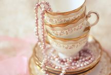 Tea Time and Party Tablescapes / by Misha Dawaioser