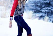 Winter Wonderland Wardrobe! / ❄️⛄️ / by Aleesha Slattengren