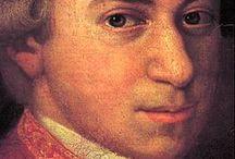 Mozart / Wolfgang Amadeus Mozart, The Master, Mozart, Amadeus / by June Stoyer
