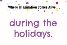 . . . during the holidays. / Our Festivals of Light exhibit explores holiday traditions each year.  Diwali, Hanukkah, Santa Lucia, Christmas Around the World, Kwanzaa, Los Posadas and the Lunar New Year. / by Seattle Children's Museum