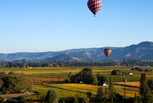 Adventure in Napa / People come from all over the world to taste our grapes in Wine Country, but there are a lot more things to in Napa Valley. With a year-round temperate climate, visitors can enjoy Napa's great outdoors with our premier golf courses, art and culture and famous hot air balloon rides over miles of rolling vineyards. / by Meritage Resort