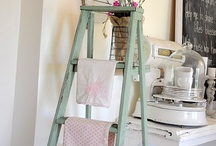 Wood ladders / by Judy Kalt