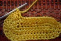 apprendre le crochet / by Mamoun Tricote Pour vous