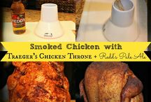 Traeger recipes / by Christy Hobby