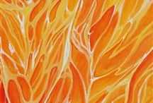My favourite colour / Orange of course!  / by Scribbly Scribbler