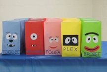 Yo gabba gabba party / by Irissa's Crafts