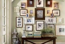 Decor: Gallery Walls / Gallery wall inspiration / by Amy Fennell
