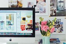 Creative Workspace / by Tiana Gustafson