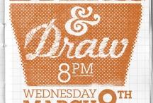 Drink & Draw inspiration / by Alaina Coppa