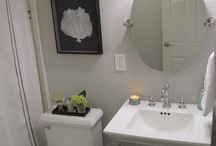 Small Bathroom Renovation / by Lauren Lamoureux
