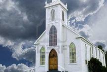 CHURCHES / by Sherry Siler Reddekopp