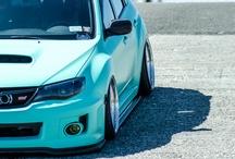 subaru / I love japanese car / by Emmanuel Ledezma