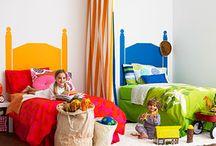 Shared Bedroom Boy/Girl / by Jessie Weaver, Vanderbilt Wife