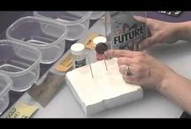 Polymer Clay Tutorials / by Paw Prints On The Moon