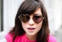 Óculos escuros / by Tanara Brasil